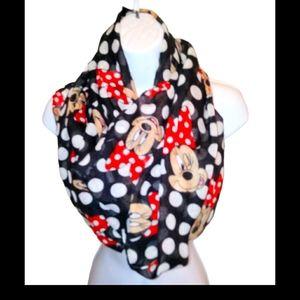 Disney vintage minnie mouse scarf